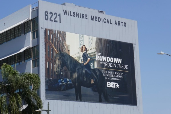 Rundown Robin Thede 2018 Emmy FYC billboard