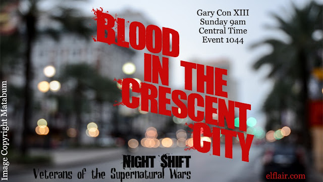 Blood in crescent city