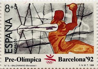 PRE-OLÍMPICA BARCELONA 92. BALONMANO