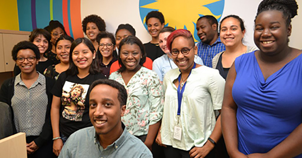 Black and minority interns