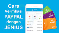 Cara Withdraw PayPal ke Jenius Bank BTPN Bebas Fee