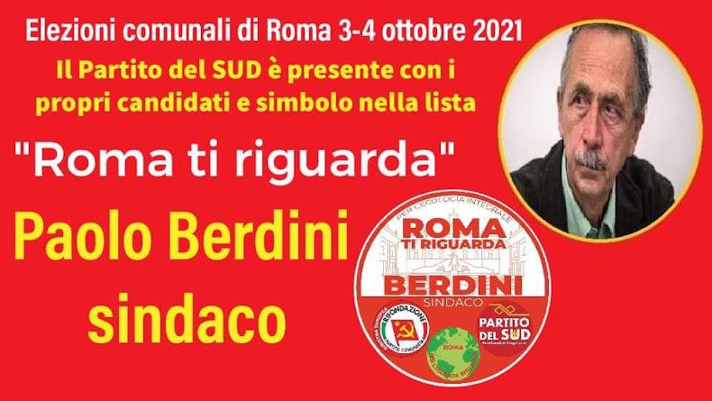 ELEZIONI COMUNALI ROMA 3-4 OTTOBRE 2021