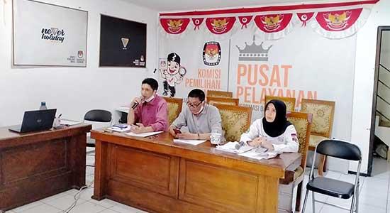 KPU Sukabumi Sulit Cari Lembaga Pemantau di Pilkada 2020