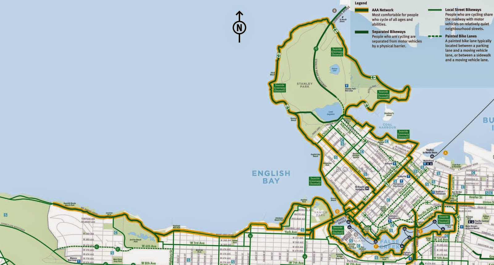 Home Design Stores Vancouver Bc Vancouver Bike Map On Growth Transit And Bikes In