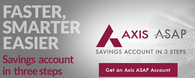How to open Axis ASAP account, know features and limitations?