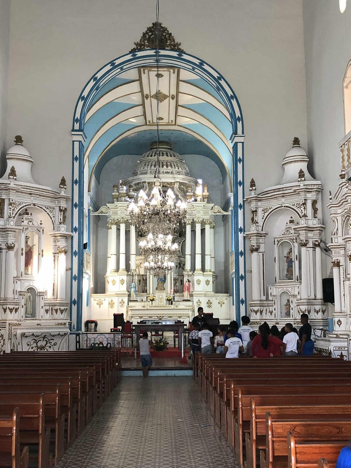 Matriz Nossa Senhora da Assunção (interior) - Camamu