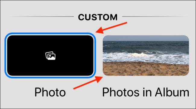 اختر خيار الصور أو الصور في الألبوم