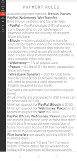 Adsterra Payment options