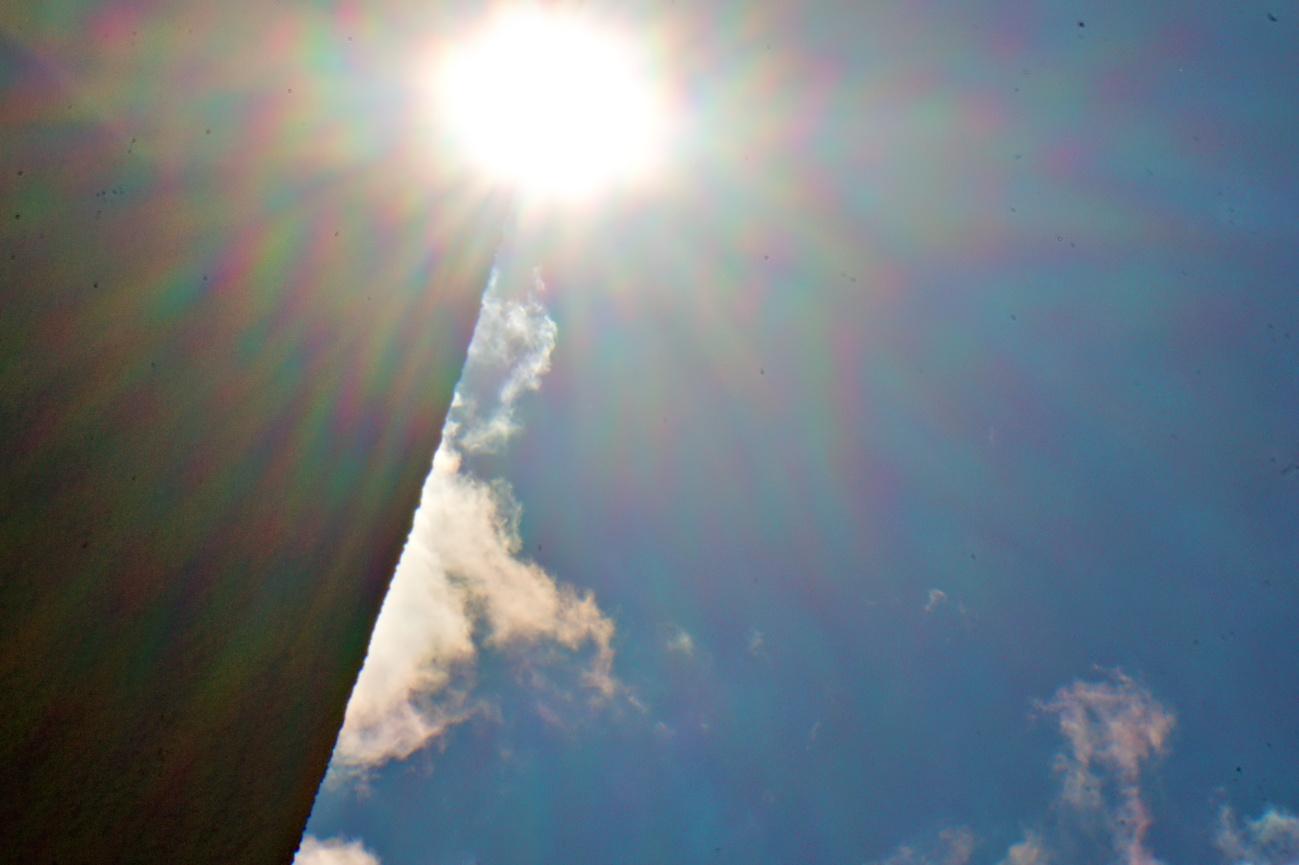 Das 15-Minuten-Selbstbauobjektiv — Voll in die Sonne