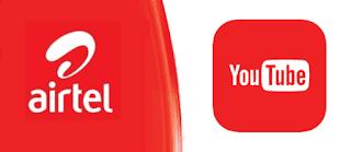 Airtel YouTube 4.5GB For N1000
