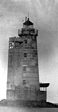 Original Bishop and Clerks Lighthouse