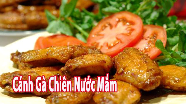 Canh ga chien nuoc mam - Ship do an dem Da nang