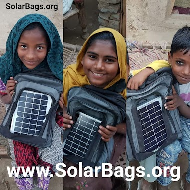Pakistan's First Solar Bags - Education, Safety & Earning