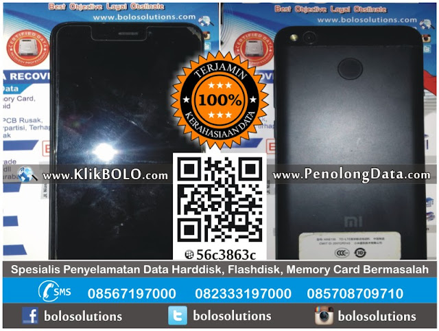 Recovery Data HP Android Bootloop Xiaomi Redmi 4X