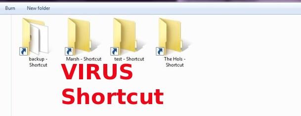 Cara Menghapus Virus Shortcut Secara Permanen