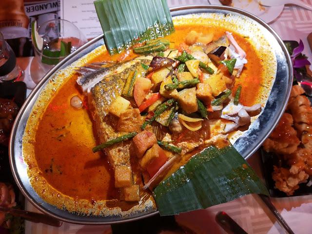 Signature Thai Curry Fish Head
