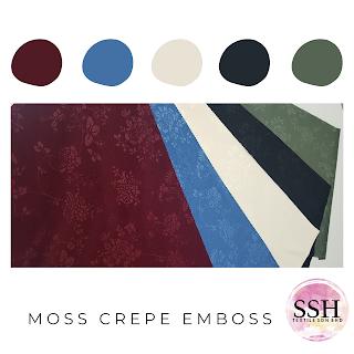 Moss Crepe Emboss