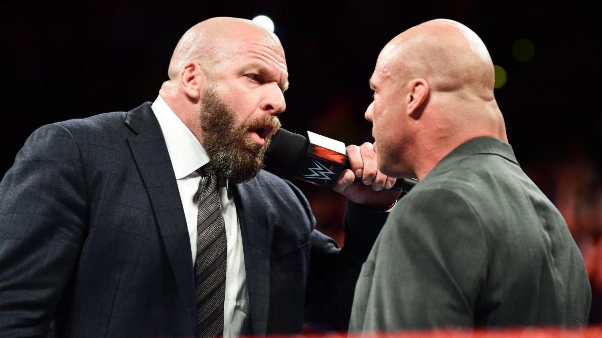 Triple H pediu para que Kurt Angle treinasse os lutadores do NXT
