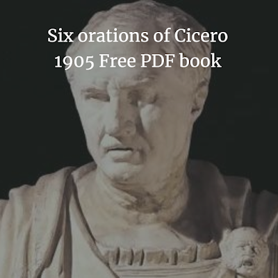 Six orations of Cicerofree pdf book