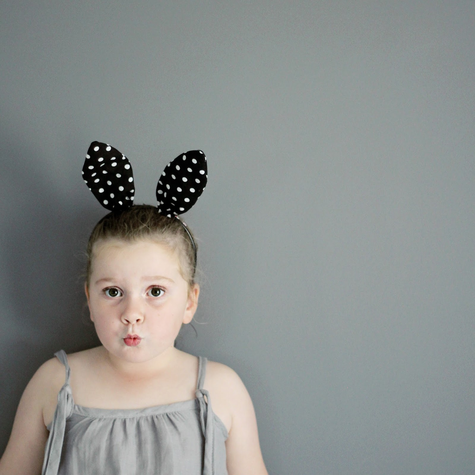 maker*land.: Super quick bunny ear hairband - tutorial