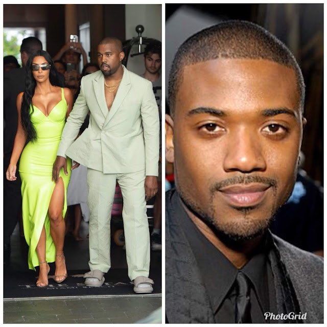 KANYE WEST WON'T TAKE IT COOL  WITH RAY J WHEN HE HEARS THIS COMMENT