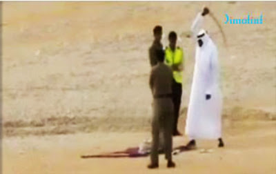 Public execution inn Saudi Arabia