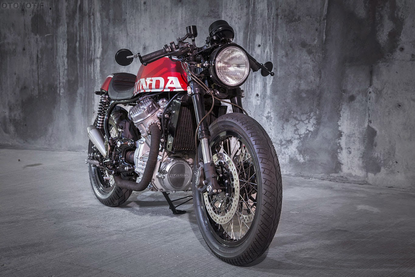 Racing Caf U00e8  Honda Cx 500 1980 By Mike Meyers