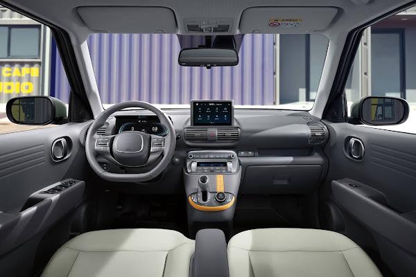 Novo Hyundai Casper tem interior revelado em fotos oficiais