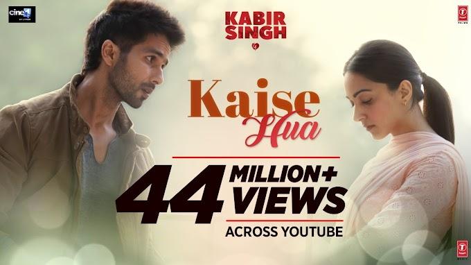 कैसे हुआ Kaise Hua Lyrics in hindi by Vishal Mishra - Kabir Singh