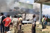 (Video) Kebakaran Menghanguskan 3 Unit Ruko dan 2 Unit Mobil Di Desa Bukit Lipai Batang Cenaku
