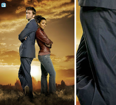 10th Doctor blue suit trousers