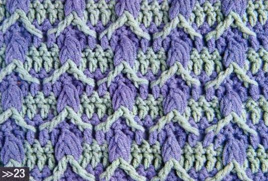 Patrón #1096: Punto Cerrado a Crochet