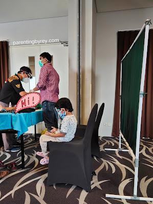 Khitan bersama mitra sunatan di hotel Fave Rungkut Surabaya