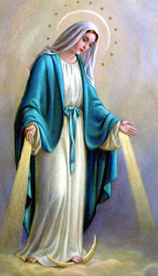 Imagenes de la Inmaculada Concepción celebrada el 8 de Diciembre