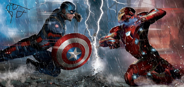 Captain America: Civil War Story