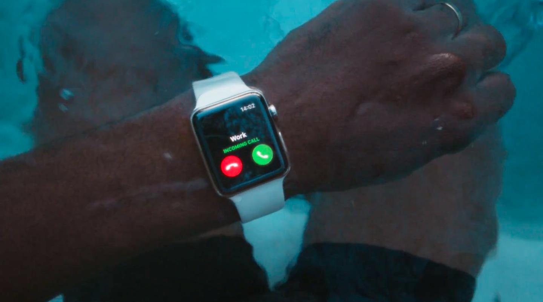Apple Shares Go Swim Apple Watch Series 2 Ad Techgreatest