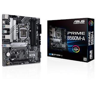 ASUS Prime B560M-A Intel B560 LGA 1200 11th Gen Micro-ATX Motherboard