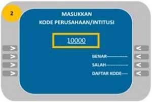 Cara Bayar UTBK Lewat Mandiri ATM