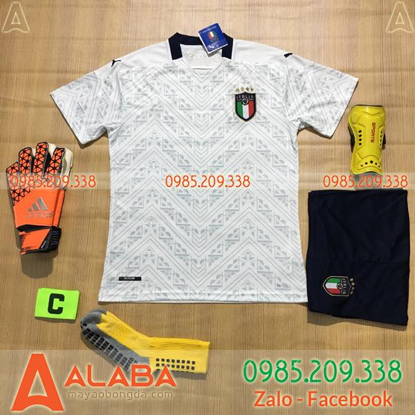 Áo Ý 2020 Sân Khách Màu Trắng