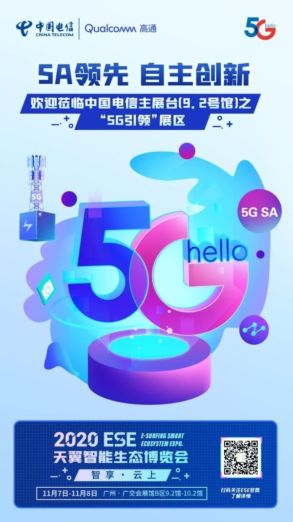 China Telecom's 5G SA network is the world's first in large-scale commercial use, the world's largest!