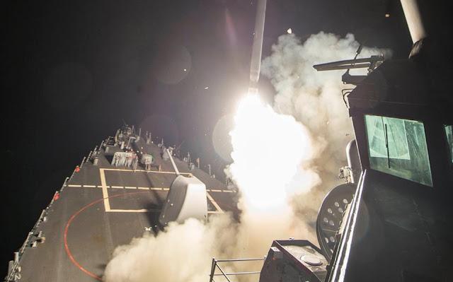Πυραυλική επίθεση των ΗΠΑ εναντίον της Συρίας