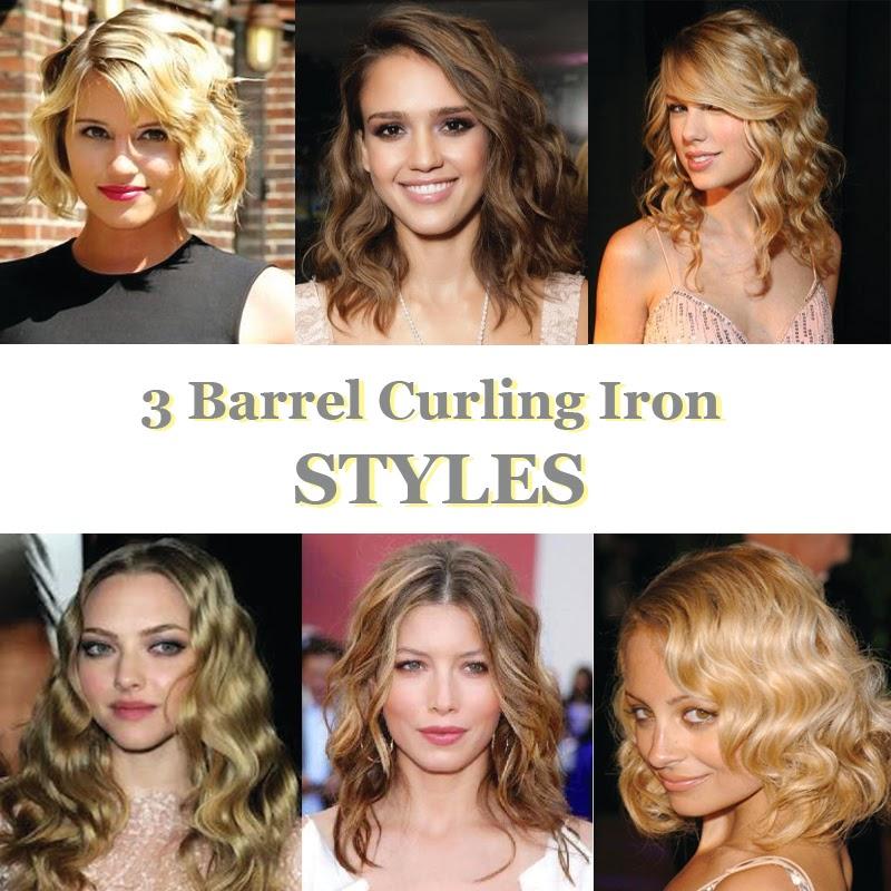 Fabulous 3 Barrel Curling Iron Styles Scratch 39N39 Stef Short Hairstyles Gunalazisus
