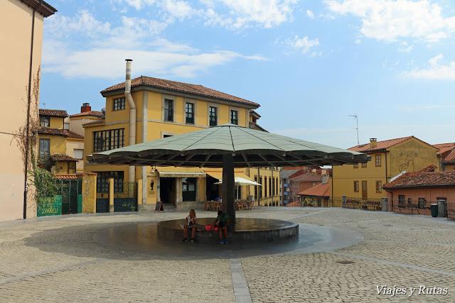 Plaza del Paraguas de Oviedo