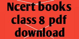 ncert books class 8 english and hindi medium pdf download