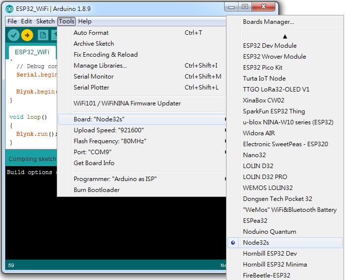 Arduino筆記(35):ESP-32 初始化設定&上傳程式Timed out 的解決方法