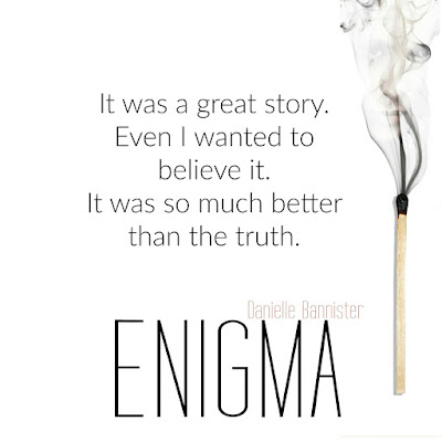 Enigma by @dbannisterbooks #PreOrder #CoverReveal