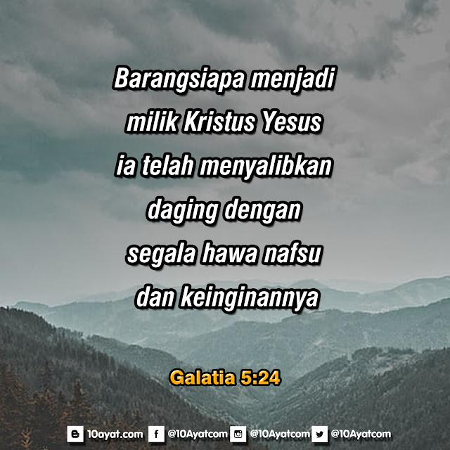 Galatia 5:24
