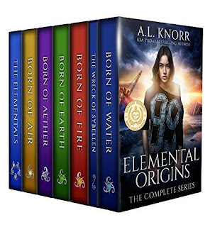 Elemental Origins: The Complete Young Adult Fantasy Series book promotion sale AL Knorr