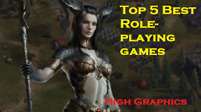 Top 5 Best Role-playing games android 2020 Download | High Graphics | RPG games for iOS and ANDROID 2020