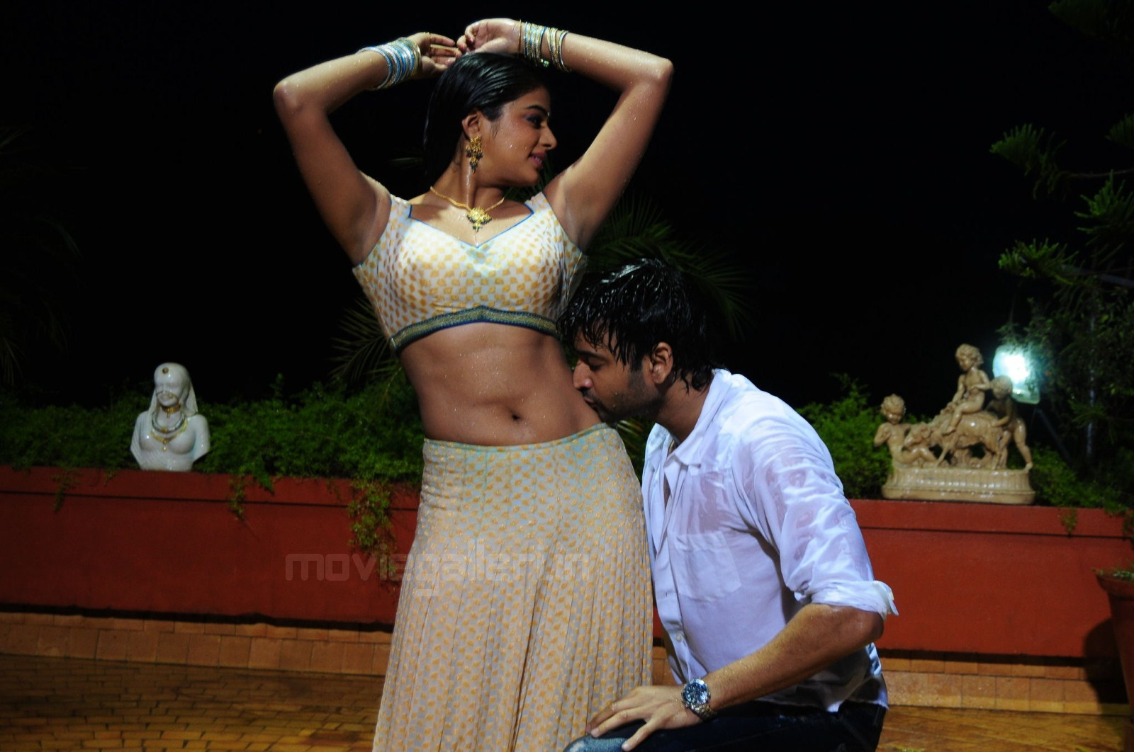 Hot Navel Kissing Scenes
